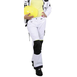 L+D Profi-X 2366 Bundhose Damen Weiß Größe: 36