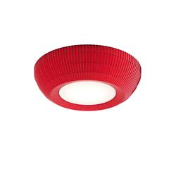 Designer-Deckenleuchte Bell ø 90 cm Axo Light rot