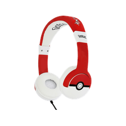 OTL Pokémon Pokeball Junior , On-ear Kopfhörer Rot