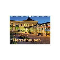 Die Gärten in Herrenhausen (Wandkalender 2021 DIN A4 quer)