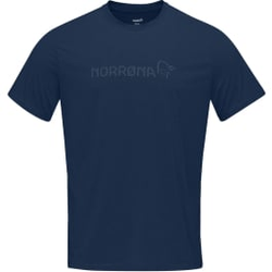 Norrona - Norrona Tech T-Shirt M Indigo Night - T-Shirts - Größe: S