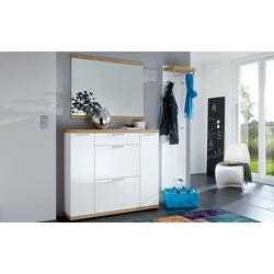 Voss Möbel Dielenkombination Burgos in weiß