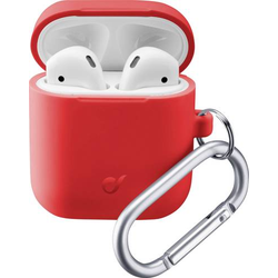 Cellularline BOUNCEAIRPODSR Kopfhörer Tasche Passend für:In-Ear-Kopfhörer Rot