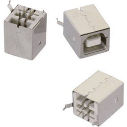 Würth Elektronik USB Typ B stehend WR-COM Buchse, Einbau vertikal stehend 61400413321 Inhalt