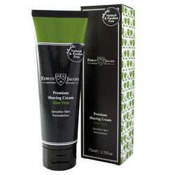 EDWIN JAGGER Premium Shaving Cream Tube Aloe Vera