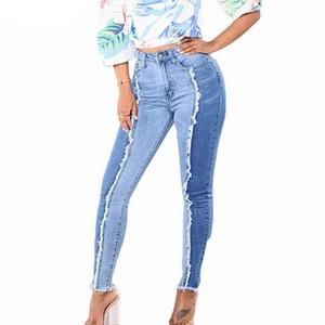 Jeans für Frauen, Damen Jeanshosen Schlanke Leggings Fitness Plus Size Leggins Länge Jeans, Kleidung für Frauen (Sky Blue 4XL)