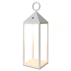 Mantra LED Gartenleuchte Außen-Laterne Weiß Astun