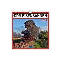 Trötsch Technikkalender DDR-Eisenbahn 2022 - Kalender