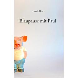 Blaupause mit Paul als Buch von Ursula Hess