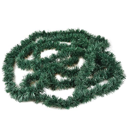 Festgirlande, Folie Ø 6 cm, 5 m grün , flammensicher, Papstar (86188)