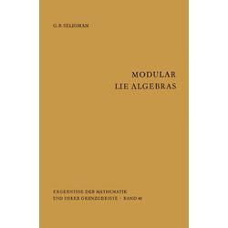 Modular Lie Algebras als Buch von Geoge B. Seligman