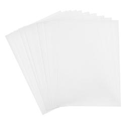 Folia Transparentpapier Transparentpapier, 10 Blatt weiß