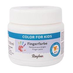 Rayher   Fingerfarbe weiß 150,0 ml, 1 St.