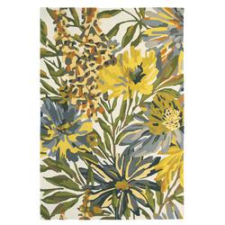 Wollteppich Floreale (Gelb; 250 x 350 cm)