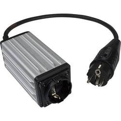 Schabus 300118 Anlaufstrombegrenzer ASB 120 Schwarz, Aluminium IP54