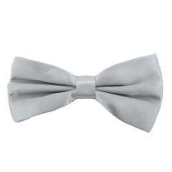Fliege Schleife Hochzeit Anzug Smoking - grau