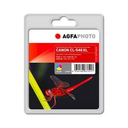 AgfaPhoto Druckerpatrone kompatibel zu Canon CL-546XL