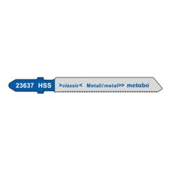 Metabo Stichsägeblätter Metall Serie classic 51/ 1,2 mm HSS speziell für Kurvenschnitte