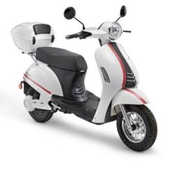 Luxxon E3000 E-Roller 25 km/h weiß
