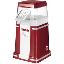 Unold Classic Popcorn-Maker Rot, Weiß