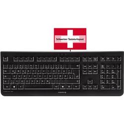 Cherry Tastatur KC 1000 Schwarz Schweiz, QWERTZ, Windows®