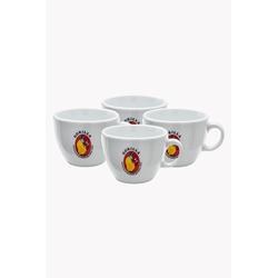 Gorilla Caffé Latte Tassen 4er Set