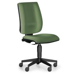 Bürostuhl figo ohne armlehnen, dauerkontakt-rückenlehne, grün