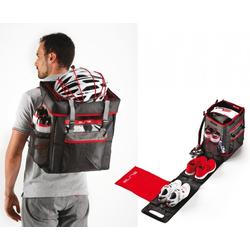 Elite Fahrradkorb Tasche Elite Tri Box schwarz/rot, für Triathlon/Du