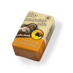 Saling Bio-Schafmilchseife - Honig 100g