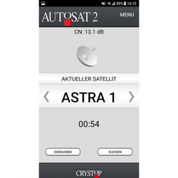 App-Option für Sat-Anlage AutoSat 2