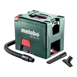 Metabo Akku-Sauger AS 18 L PC mit manueller Filterreinigung; Karton