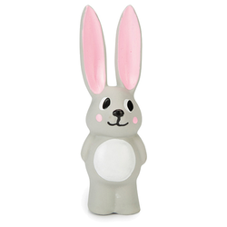 Beeztees Puppy Latex Spielzeug Rabbit Bula grau