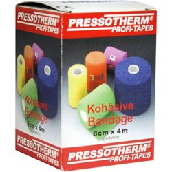 Pressotherm Kohäsive Bandage 8 Cmx4 m Grün