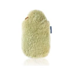 Fashy Wärmflasche Wärmflasche mit Bezug Lammfellbezug in Beige Bettflasche Lammfell Fashy 6786