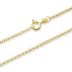 333er Goldkette: Ankerkette Gold 45cm