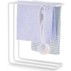 Zeller Present Schwammhalter weiß Küchen-Ordnungshelfer Küchenhelfer Küche