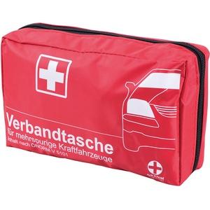 KFZ-Verbandtasche mit ÖNORM V 5101 Rot