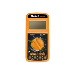 Defort DMM-1000N AC/DC Digital Multimeter Strom Kapazität