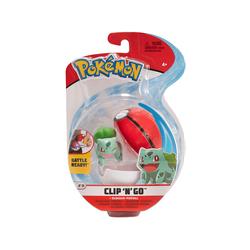 Pokémon - Clip 'n Go Bisasam & Pokéball