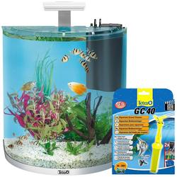 Tetra Aquarien-Set AquaArt LED Explorer Line, BxTxH: 51x33,5x51,5 cm, 60 l, inkl. GC 40 Bodenreiniger