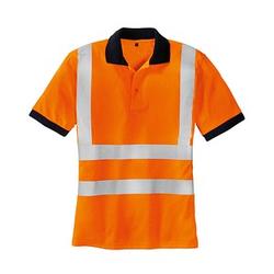 teXXor® unisex Warnschutz Shirt SYLT orange Große L