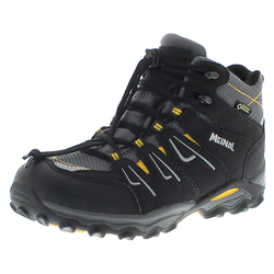 Meindl ALON JUNIOR MID GTX Anthrazit Gelb Kinder Hiking Schuhe