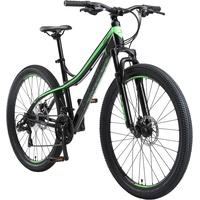 BIKESTAR Mountainbike 27,5 Zoll RH 43 cm schwarz/grün