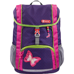 Step by Step Kid Kinderrucksack-Set 3tlg. shiny butterfly