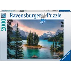 """Ravensburger Puzzle """"Spirit Island"""" Canada, 2000 Puzzleteile, Made in Germany, FSC® - schützt Wald - weltweit"""