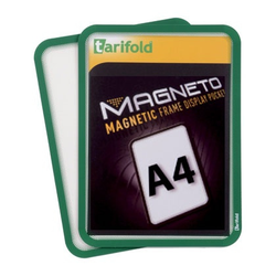 Magnetische tasche a4, 2 stk., grün