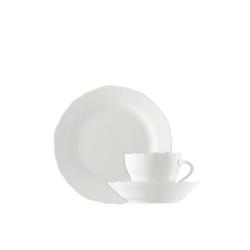Hutschenreuther Geschirr-Set Kaffee-Gedeck 3-tlg. - MARIA THERESIA Weiß