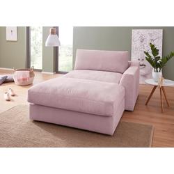 sit&more Recamiere rosa