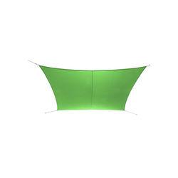 Ribelli Sonnensegel, Sonnensegel, grün, 2 x 3 m grün