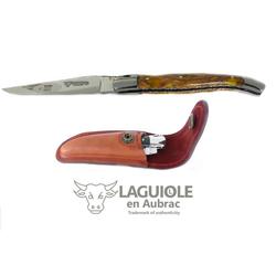 Laguiole Frankreich Taschenmesser Original LAGUIOLE en Aubrac Taschenmesser Griffschalen Kaktus